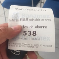 Photo taken at Banamex by Mario H. on 5/25/2016