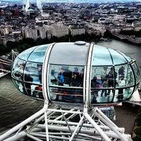 Photo taken at The London Eye by Alex D. on 6/23/2013