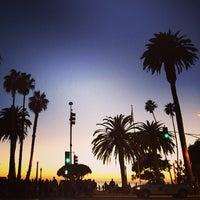 Photo taken at Santa Monica Beach Parking 1N by James F. on 1/6/2014