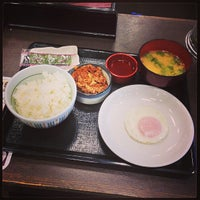 Photo taken at なか卯 船場中央大通店 by Mycroft H. on 8/4/2013