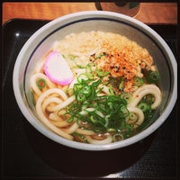 Photo taken at 天王寺うどん 東口店 by Mycroft H. on 11/25/2013