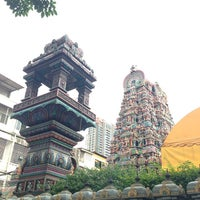Photo taken at Sri Mahamariamman Temple by Oathaikrub ร. on 7/21/2013
