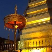 Photo taken at Wat Prathat Cho Hae by Saran Y. on 12/27/2012