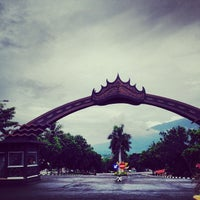 Photo taken at Kantor Bupati Lampung Selatan by TEDY A. R. on 12/13/2013