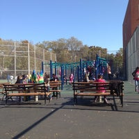 Photo taken at P.S. 254 Playground by Reggaesue M. on 10/22/2013