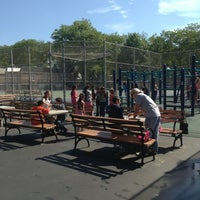 Photo taken at P.S. 254 Playground by Reggaesue M. on 6/19/2013