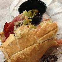 Photo taken at Quiznos by Jim K. on 10/4/2012