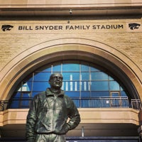 Photo taken at Bill Snyder Family Stadium by Bob S. on 9/9/2013