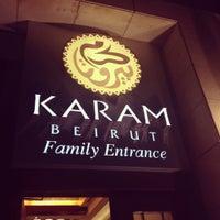 Photo taken at Karam Beirut by Afnan on 11/8/2012