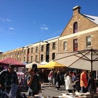 Photo taken at Salamanca Market by Susan M. on 3/2/2013