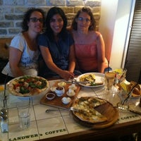 Photo taken at Landwer's Cafe / קפה לנדוור by Tami B. on 9/24/2013