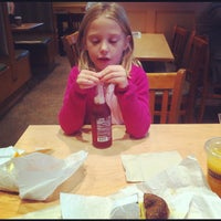 Photo taken at Bruegger's by Matthew W. on 10/18/2012