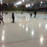 Photo taken at Хоккейный центр Амур by Daria V. on 3/6/2013