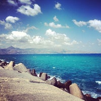 Photo taken at Port of Heraklion by Katty M. on 7/23/2013