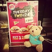 Photo taken at Burger King by Yovita T. on 7/16/2013