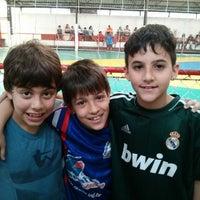 Photo taken at Quadra de Futebol de Salão Sacy Club by Mileide F. on 9/22/2013