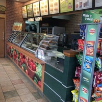 Photo taken at Subway by Andrew M. on 5/8/2014