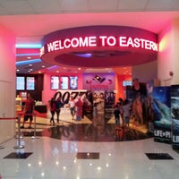 Photo taken at Eastern Cineplex Tawau by Alma Johanna on 11/11/2012
