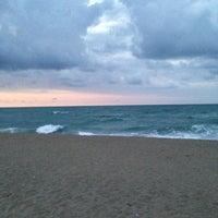Photo taken at Akkum Plajı by Merve s. on 7/15/2013