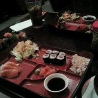 Photo taken at Fire Ninja Sushi by Amber N. on 12/12/2012