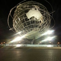 Photo taken at The Unisphere by Sigrid p. on 7/15/2013