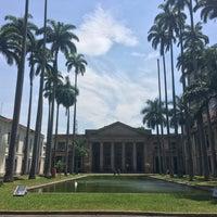 Photo taken at Palácio Itamaraty by Jeff N. on 10/27/2016