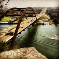 Photo taken at 360 Bridge (Pennybacker Bridge) by Winnie G. on 4/5/2013