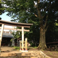 Photo taken at 諏訪神社 by vvn on 6/16/2013