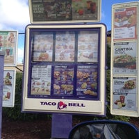 Photo taken at Taco Bell by Amadiris C. on 10/6/2012