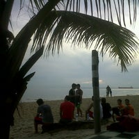 Photo taken at Kemala Beach & Resto by ibnoe s. on 2/9/2013