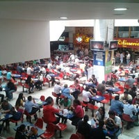 Photo taken at Feria de Comida by Juan Pablo R. on 7/30/2013