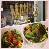 Photo taken at Mandy's by 514eats on 7/2/2013
