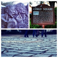 Photo taken at Congo Square by Aaron R. on 11/10/2012