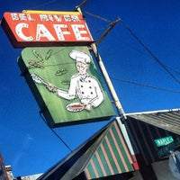 Photo taken at Eel River Cafe by Aaron R. on 1/3/2014
