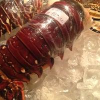 Photo taken at Blue Lobster by Galinka on 4/30/2013