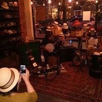 Photo taken at Goorin Bros. Hat Shop - Larimer Square by Tony B. on 4/20/2013