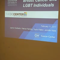 Photo taken at The DC Center for the LGBT Community by ShannonRenee M. on 2/11/2017