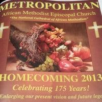 Photo taken at Metropolitan AME Church by ShannonRenee M. on 11/17/2013