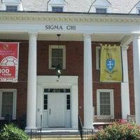 Photo taken at Sigma Chi Fraternity - University of Maryland by ShannonRenee M. on 9/15/2012