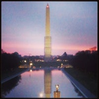 Photo taken at Lincoln Memorial Reflecting Pool by ShannonRenee M. on 3/31/2013