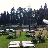 Photo taken at Parco Termale Villa dei Cedri by Alexandra K. on 9/21/2012