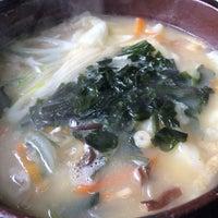 Photo taken at 食事処 春日 by Ayako U. on 2/9/2014