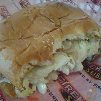 Photo taken at Firehouse Subs by Amanda M. on 10/10/2012