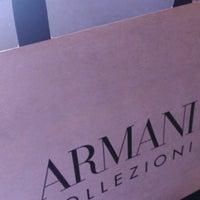 Photo taken at Armani Collezioni by Berk Ercan M. on 9/17/2016