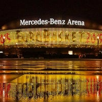 Photo taken at Mercedes-Benz Arena by Jonathan M. on 9/11/2015