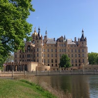 Photo taken at Schweriner Schloss by Виктория Г. on 5/1/2014