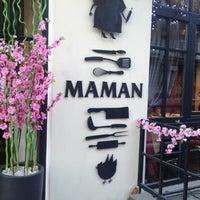 Снимок сделан в Maman пользователем Nastya V. 4/6/2013