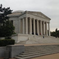 Photo taken at Thomas Jefferson Memorial by Mike T. on 5/14/2013