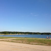 Photo taken at Lake Shelbyville West Dam Access by Cari R. on 8/3/2013