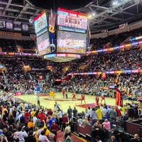 Photo taken at Quicken Loans Arena by John T. on 3/20/2013